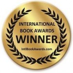 International Book Awards - winner sticker